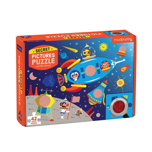 Outer Space Secret Picture Puzzle Secret Pictures Puzzles Mudpuppy