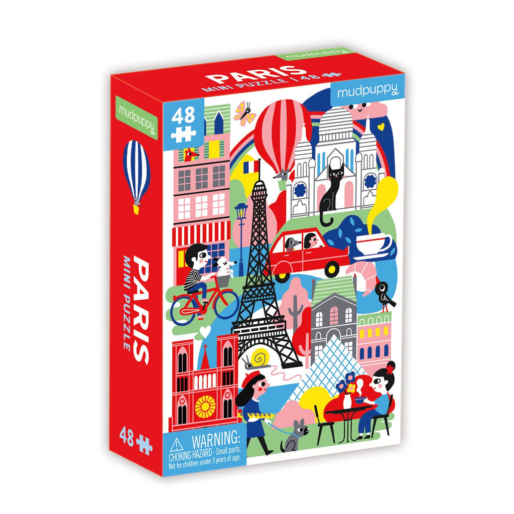 Paris Mini Puzzle Mini Puzzles Mudpuppy