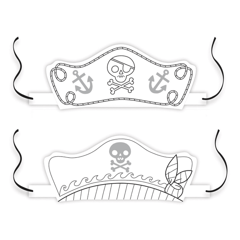 Pirates Color-In Hats Sale Mudpuppy