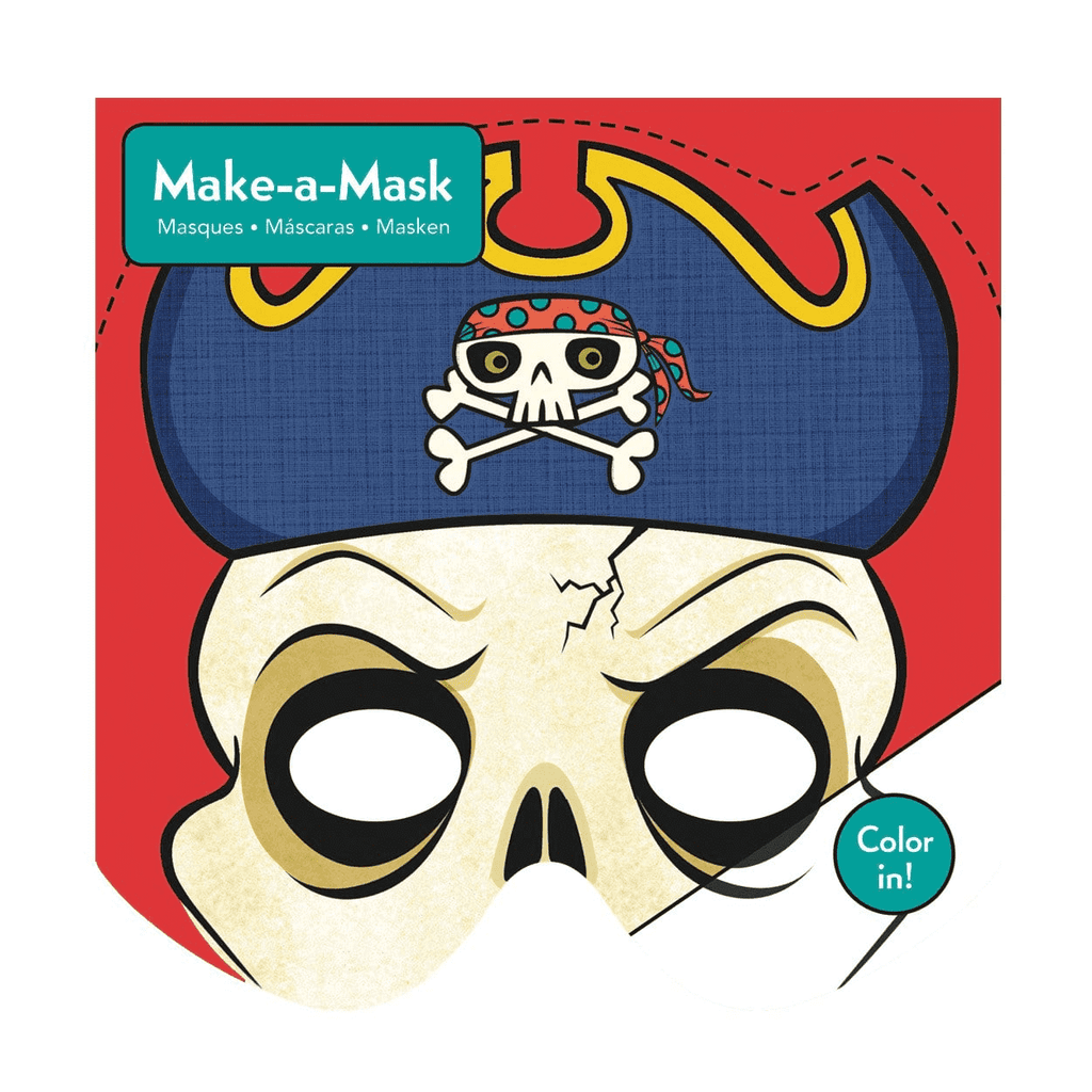 Pirates Make-a-Mask Make a Masks Mudpuppy