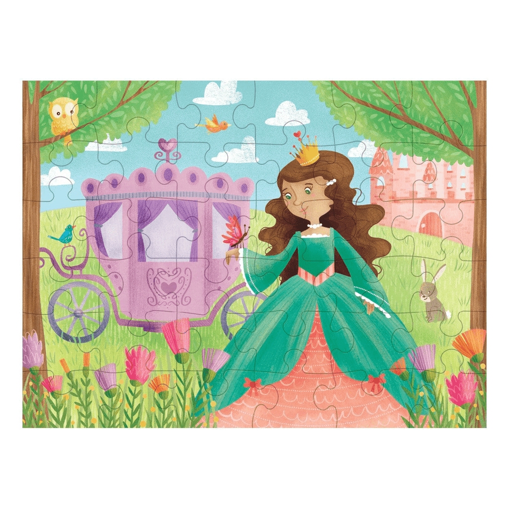 Pretty Princess Puzzle To Go Puzzles to Go Mudpuppy