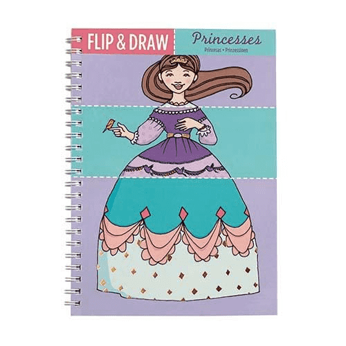 Princesses Flip & Draw sale Mudpuppy
