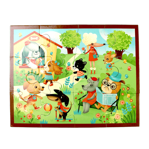 Puppy Playtime Pouch Puzzle Pouch Puzzles Mudpuppy