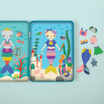 Purrmaid Magnetic Dress-up Magnetic Tin Playsets Mudpuppy