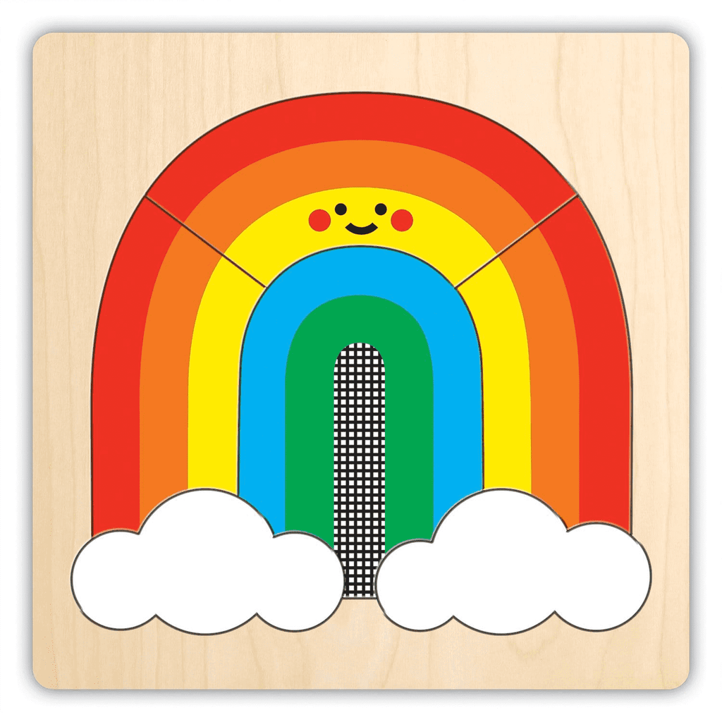 Rainbow Friends 4 Layer Wood Puzzle 4 Layer Wood Puzzles Mudpuppy