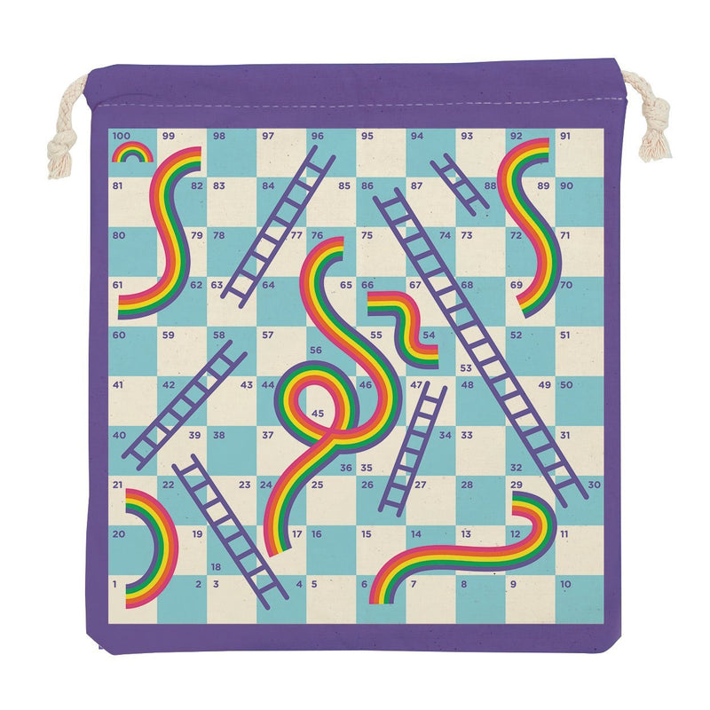 Rainbows & Ladders Travel Game Board Games Mudpuppy