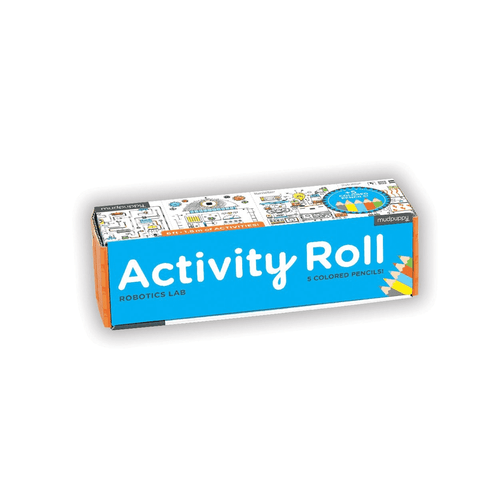 Robotics Lab Activity Roll Activity Rolls Mudpuppy
