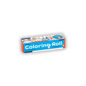 San Francisco Mini Coloring Roll Coloring Rolls Mudpuppy