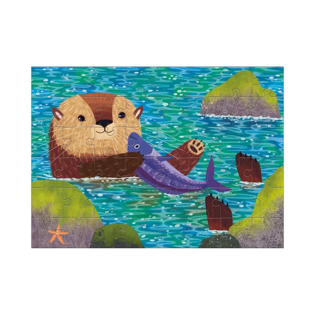 Sea Otter Mini Puzzle Mini Puzzles Mudpuppy
