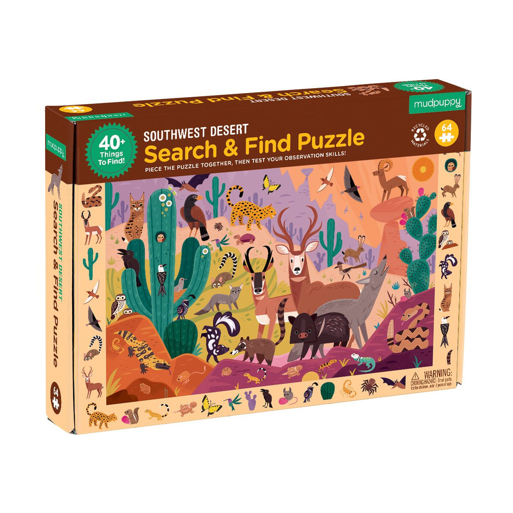 Southwest Desert Search & Find Puzzle Search & Find Puzzles Mudpuppy