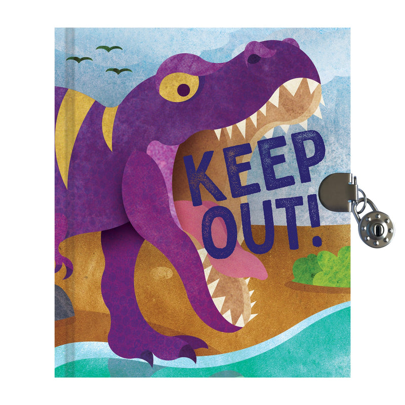 T-Rex Locked Diary Locked Diaries Mudpuppy