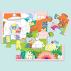 Tea Party Pouch Puzzle Pouch Puzzles Mudpuppy