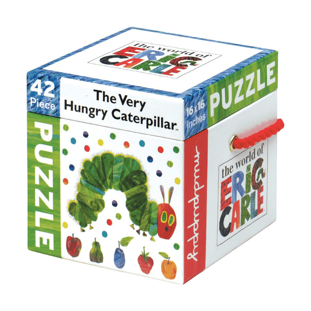 The Very Hungry Caterpillar Cube Puzzle Sale Mudpuppy