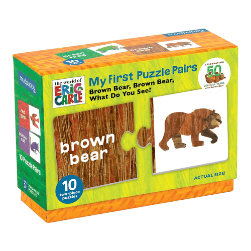 The World Of Eric Carle Brown Bear, Brown Bear, What Do You See? My First Puzzle Pairs My First Puzzle Pairs Mudpuppy