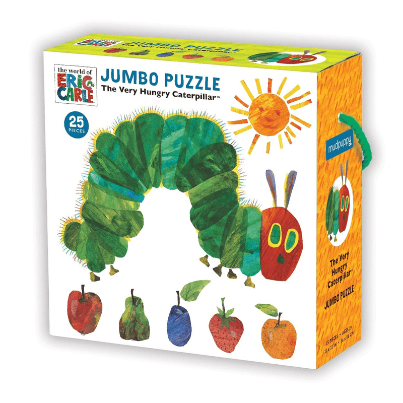 The World of Eric Carle, the Very Hungry Caterpillar Jumbo Puzzle Jumbo Puzzles Mudpuppy