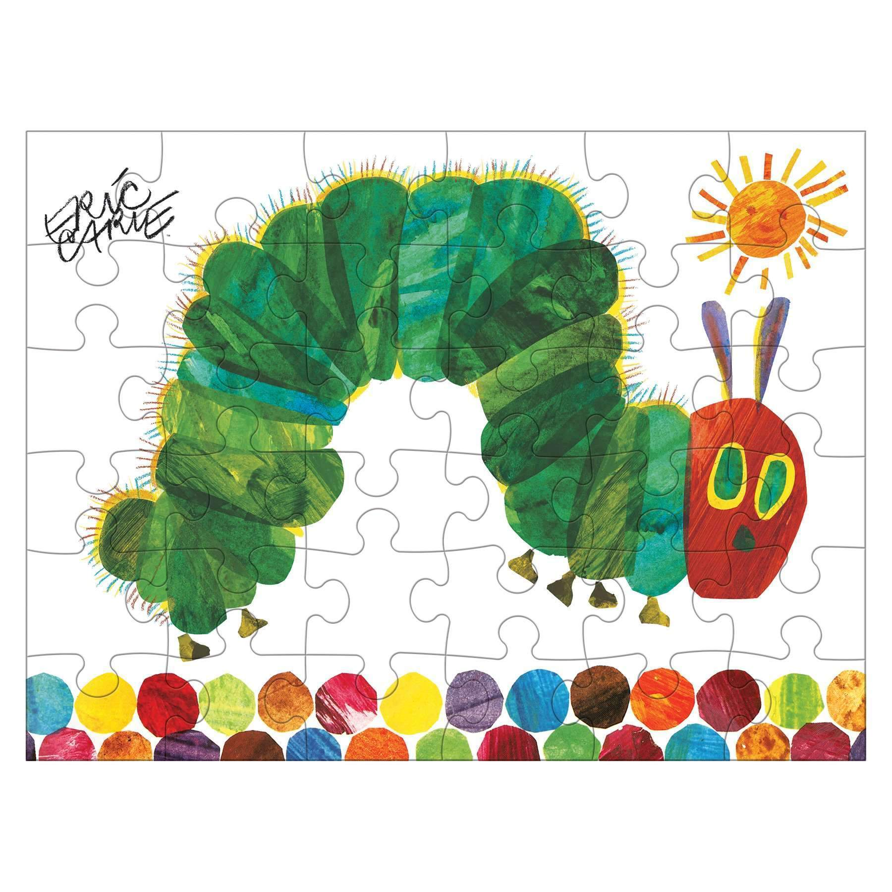 cdb47ada9 The World Of Eric Carle The Very Hungry Caterpillar Puzzle To Go Puzzles to  go Mudpuppy
