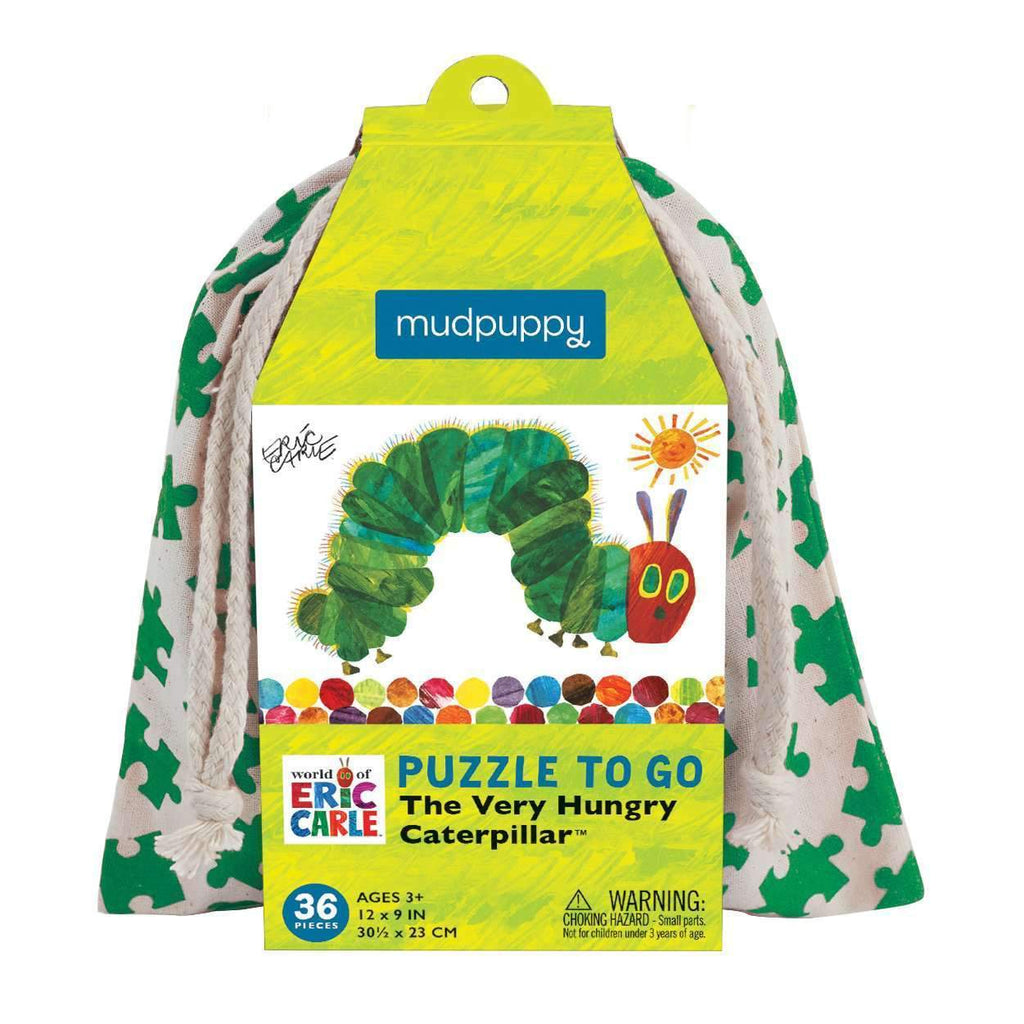 The World Of Eric Carle The Very Hungry Caterpillar Puzzle To Go Puzzles to go Mudpuppy