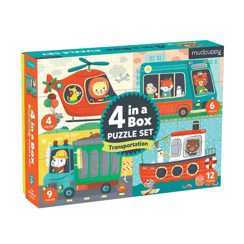 Robotics Lab Mix & Match Puzzle To Go