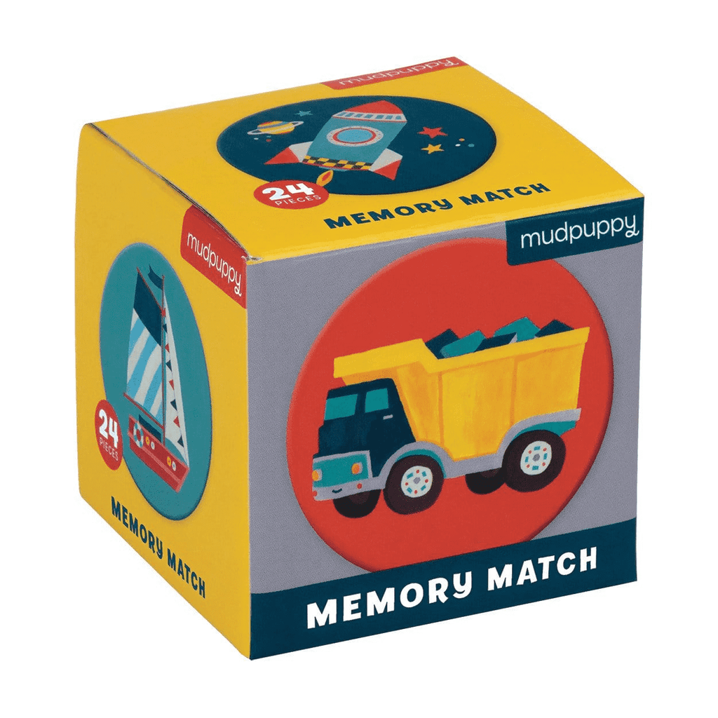 Transportation Mini Memory Match Game Mini Memory Match Mudpuppy