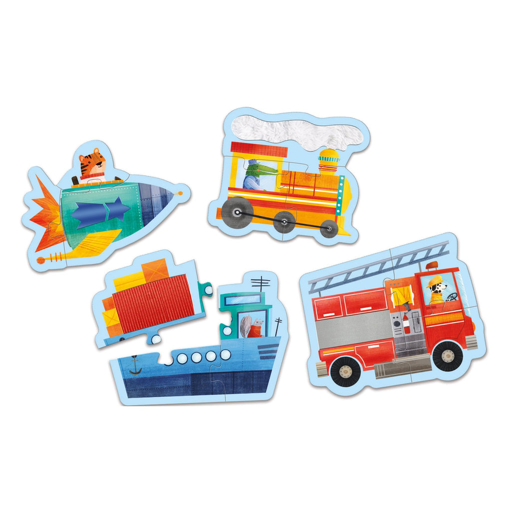 Transportation My First Touch & Feel Puzzles My First Touch & Feel Puzzles Mudpuppy