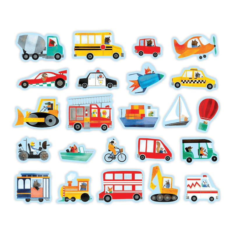 Transportation Wooden Magnetic Magnetic Sets Wooden Magnetic Sets Mudpuppy
