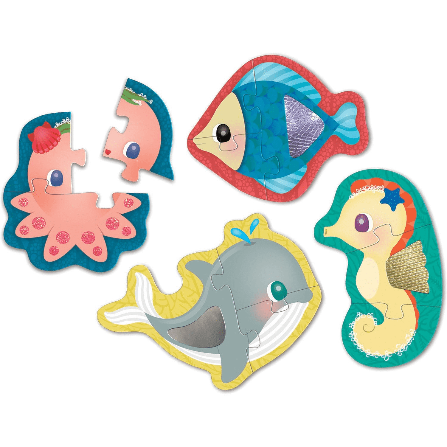 Under The Sea My First Touch & Feel Puzzles My First Touch & Feel Puzzles Mudpuppy