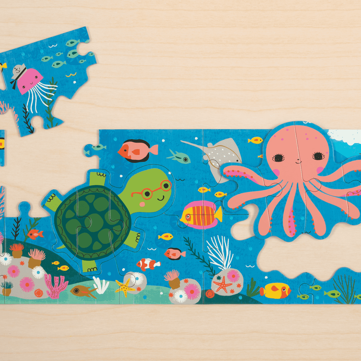 Under The Sea My Very Long Puzzle My very long puzzles Mudpuppy