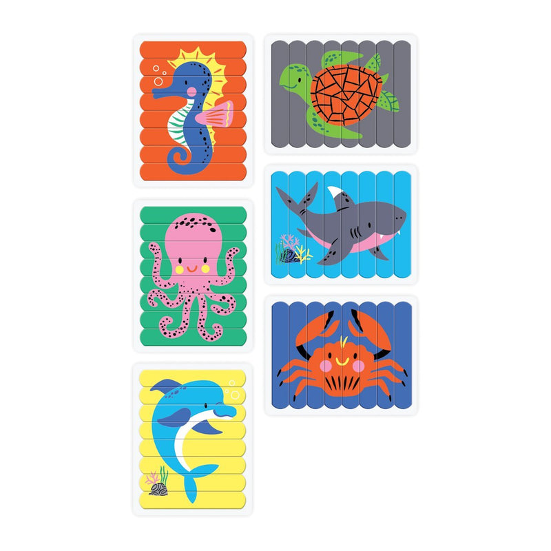 Under the Sea Puzzle Sticks Puzzle Sticks Mudpuppy