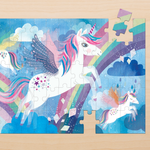 Unicorn Magic 75 Piece Lenticular Puzzle 75 Piece Lenticular Puzzles Mudpuppy