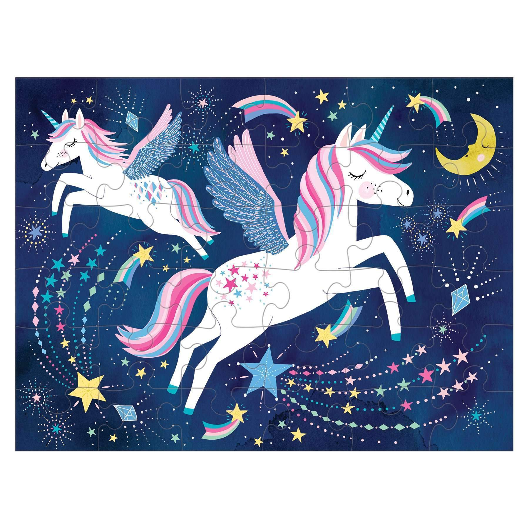Unicorn Magic Puzzle To Go Puzzles to go Mudpuppy