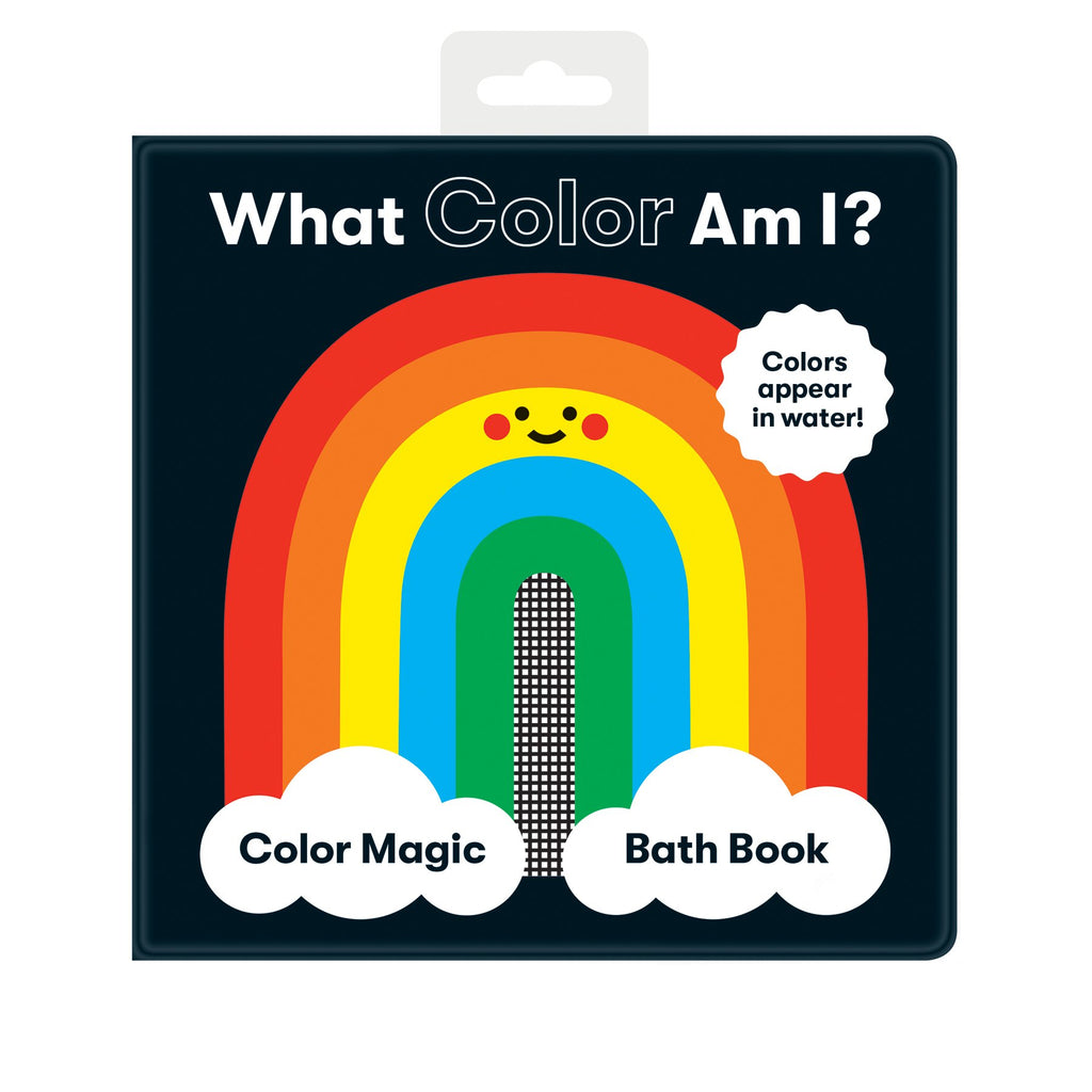 What Color Am I? Color Magic Bath Book Color Magic Bath Books Mudpuppy