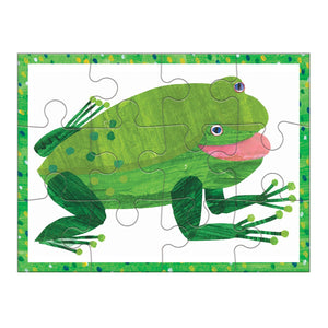 World of Eric Carle, Brown Bear 4 in a Box Puzzle Set 4-In-a-Box Progressive Puzzles Mudpuppy