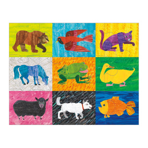 World of Eric Carle Brown Bear, Brown Bear, What Do You See? Pouch Puzzle Pouch Puzzles Mudpuppy