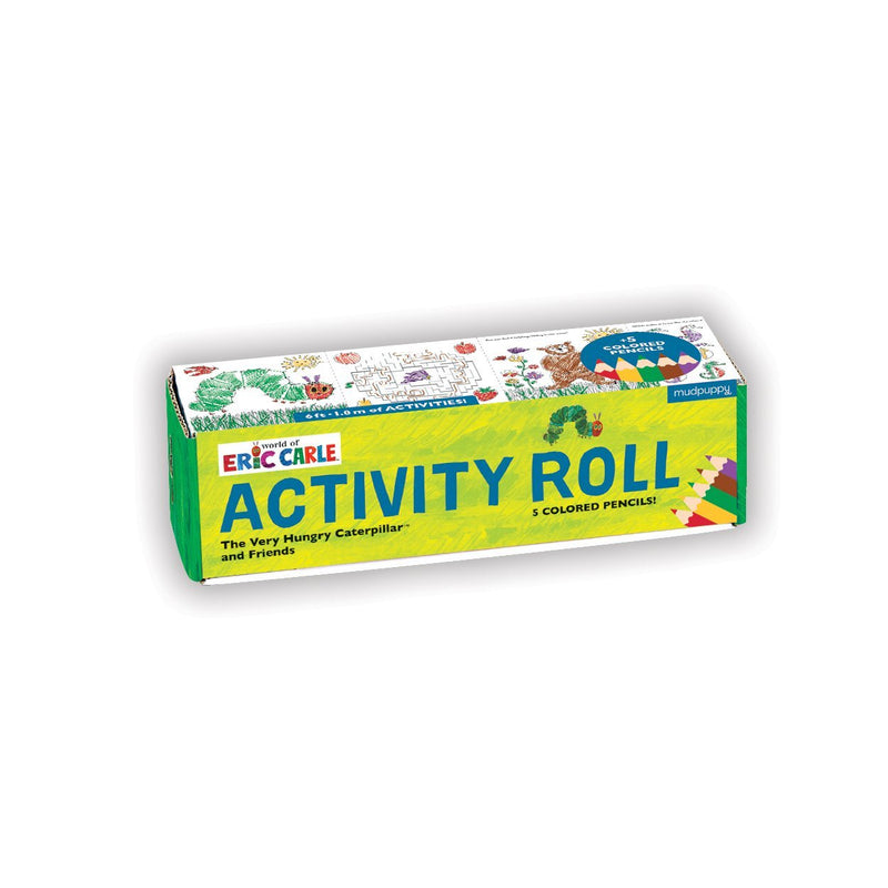 World of Eric Carle, The Very Hungry Caterpillar and Friends Activity Roll Activity Rolls Mudpuppy