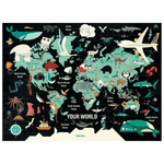 Your World 1000 Piece Puzzle Family Puzzles Mudpuppy