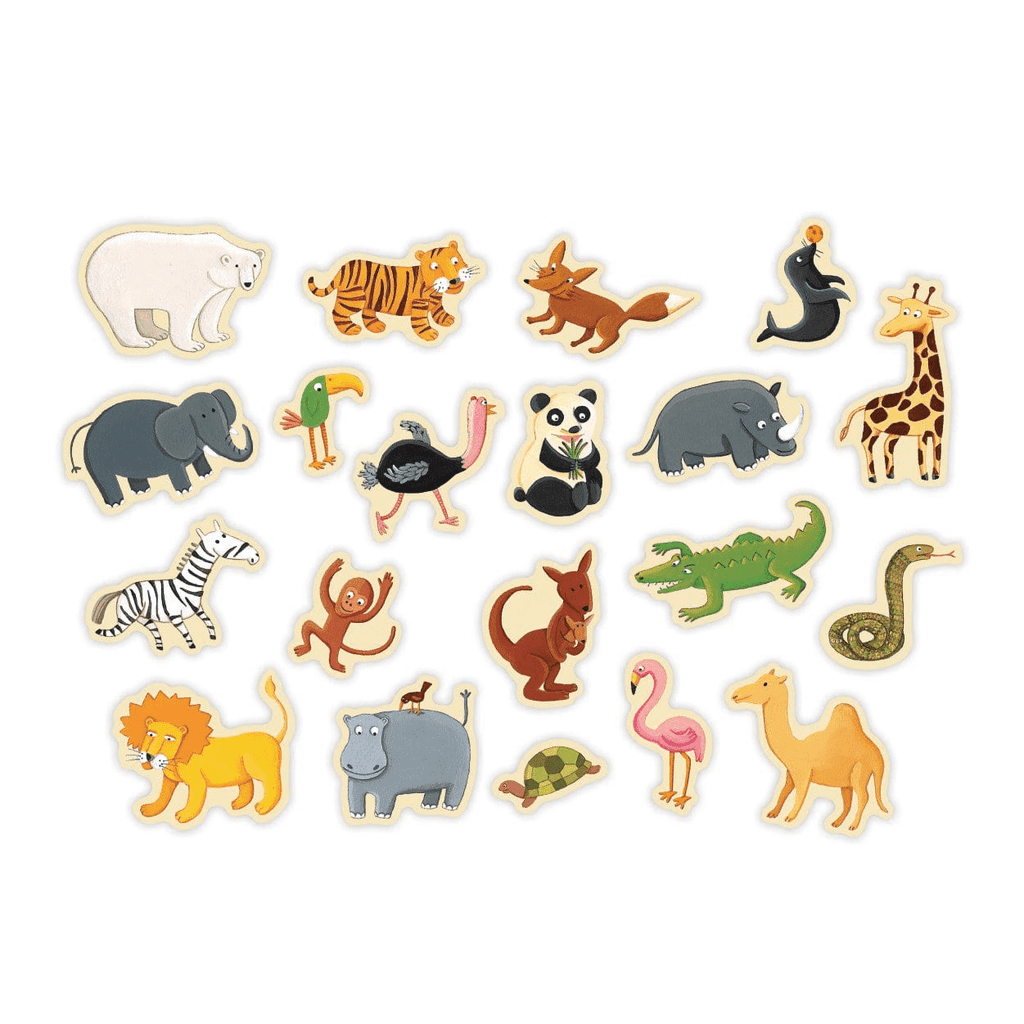 Zoo Animals Box Of Magnets Sale Mudpuppy