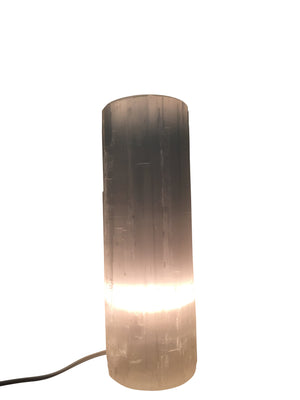 Selenite Flat Top Lamp - CuartoAstral
