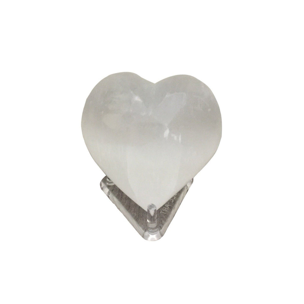 Selenite Heart - CuartoAstral