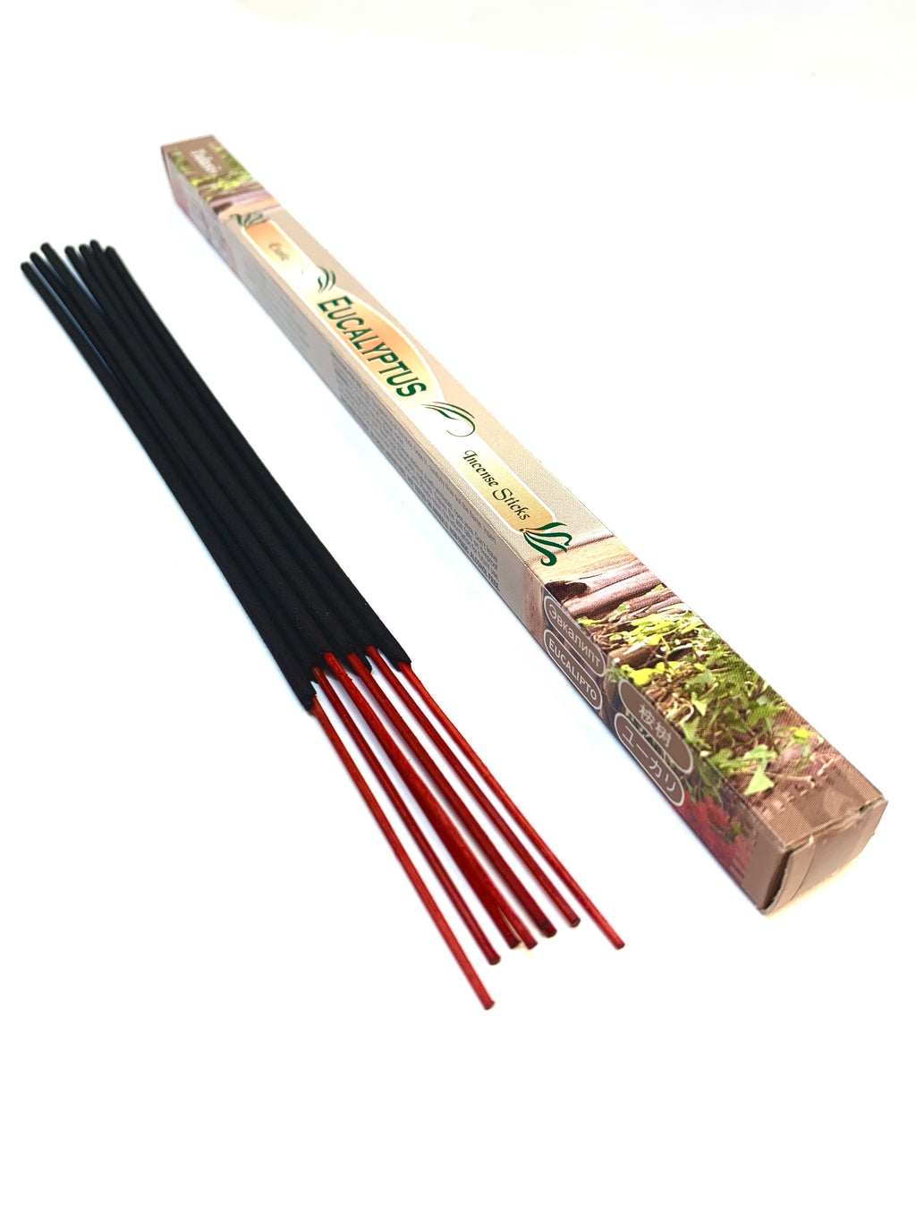 Eucalyptus Incense Sticks (Pack of 8 sticks)