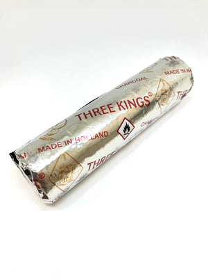 Three Kings Charcoal Roll (Pack of 10 Tablets)