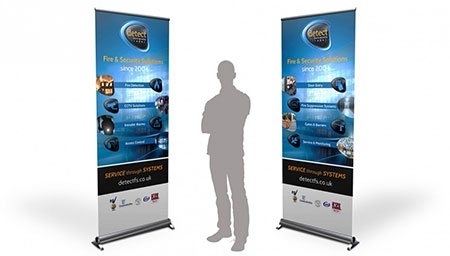 Custom Economy Retractable Banner Stand