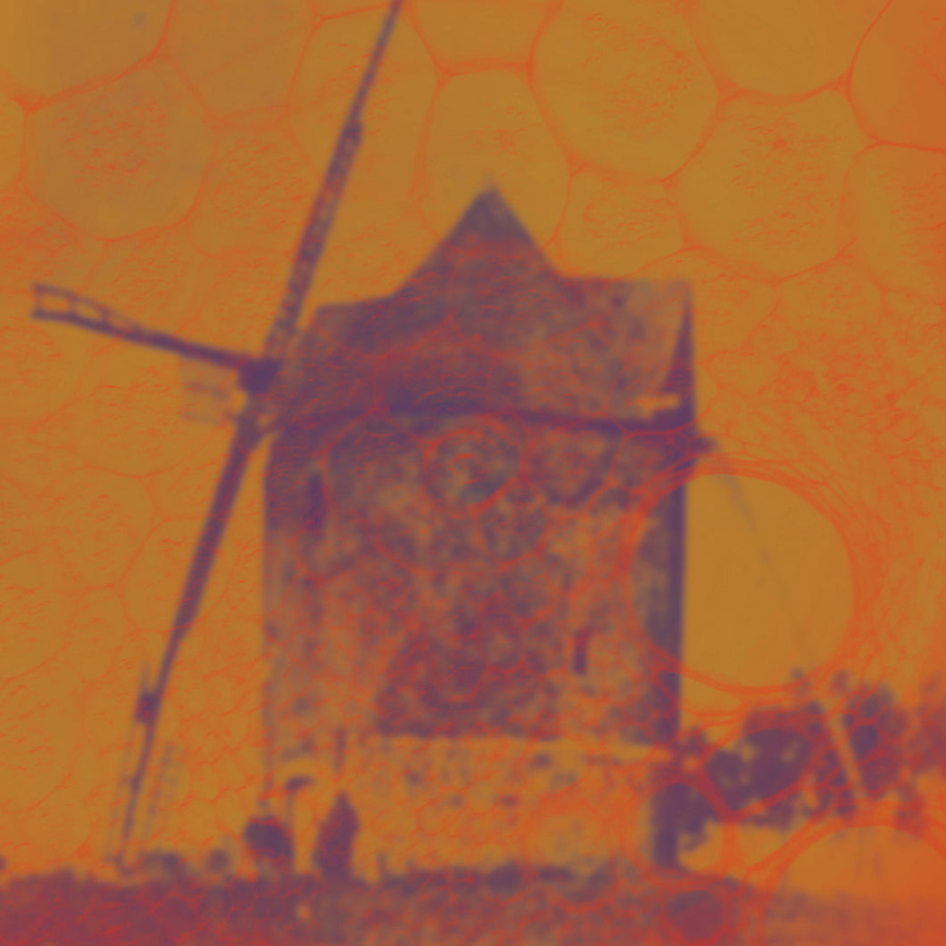 Windmill of the Autumn Sky