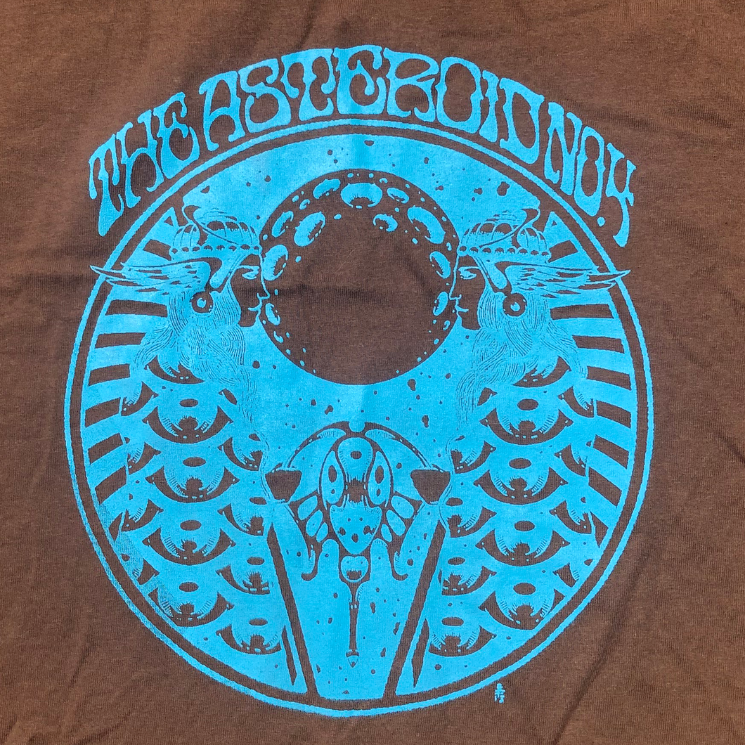 A4 S/T Brown and Blue Tshirt