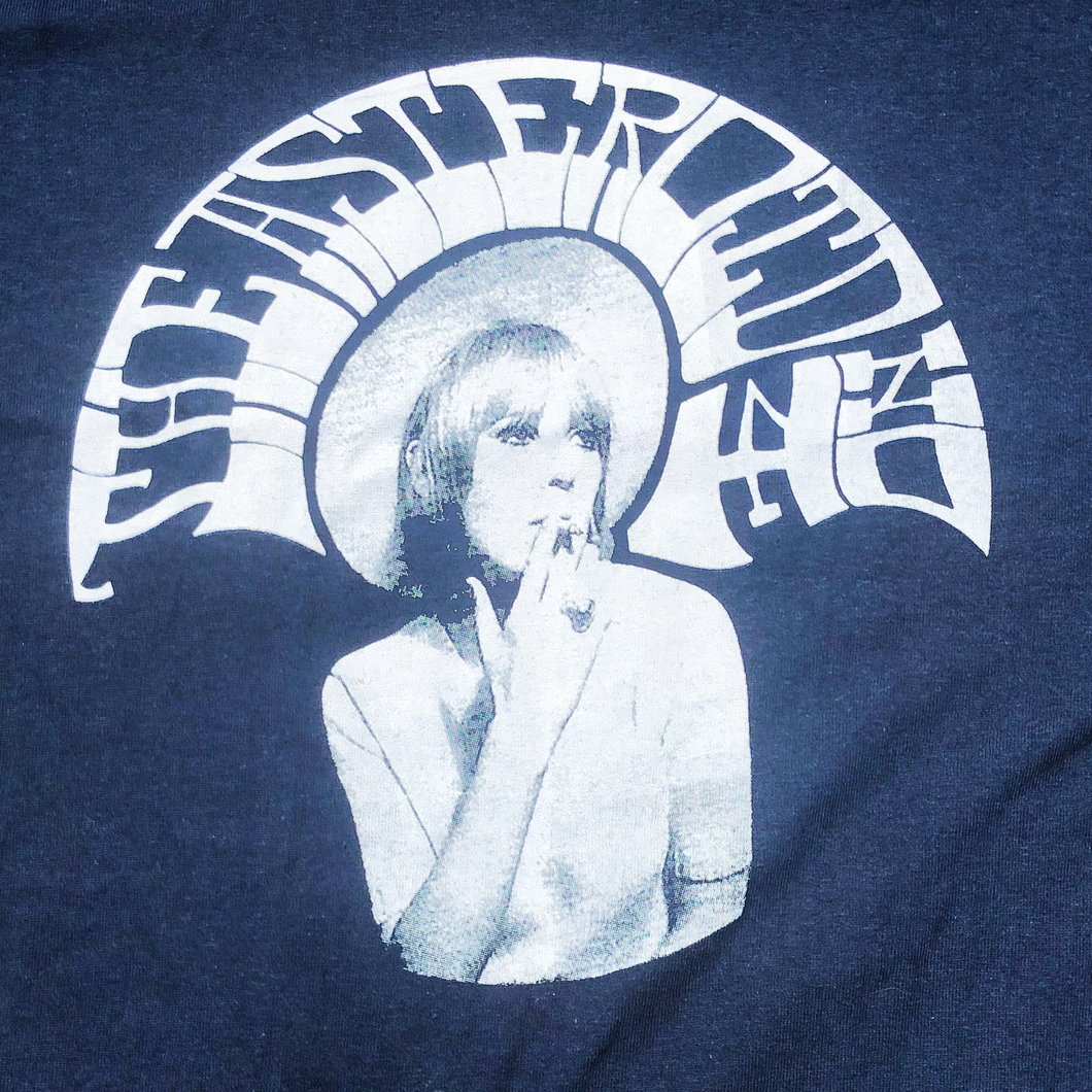A4 Marianne Blue and White T-shirt