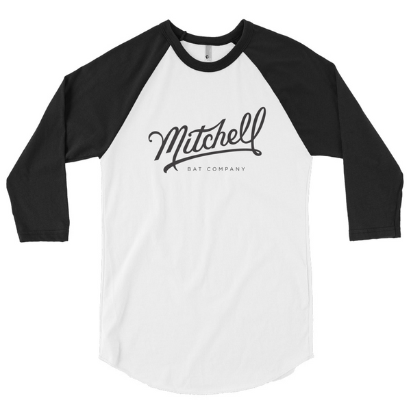 Mitchell Bat Co Raglan black/white