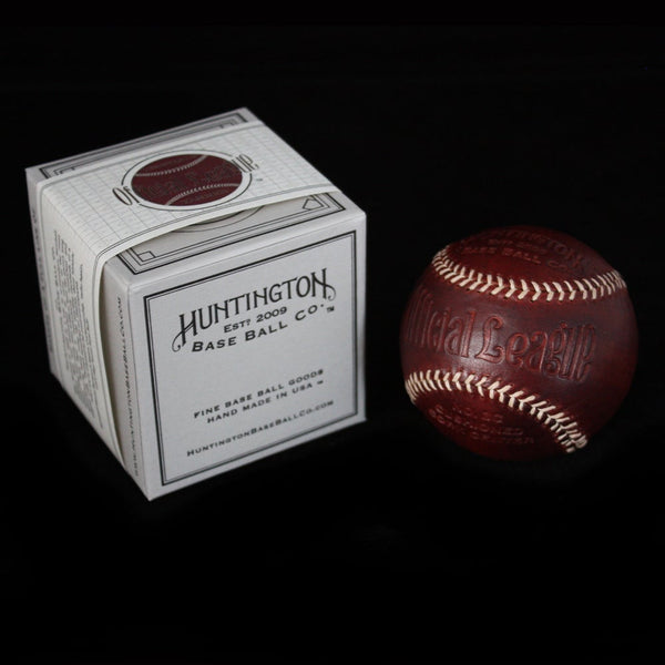 Tobacco Veg Tanned Baseball by Huntington Baseball Co.