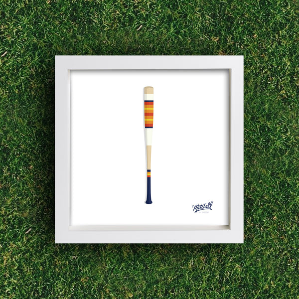 Mitchell Bat Illustration Poster (No. 18)