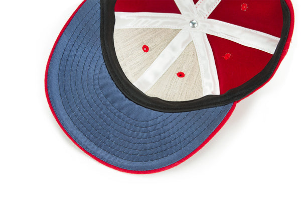 "Ebbets Field Flannels® ""MBCO"" Cap (red)"