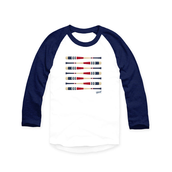 Mitchell Bat Co Boston Raglan - Navy blue sleeves