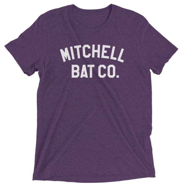 Mitchell Bat Co. short sleeve tee (purple)